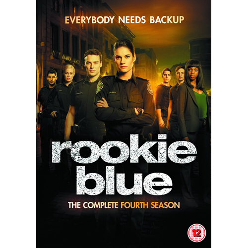 Rookie Blue - Sesong 4 (UK-import) (DVD)