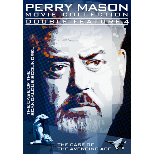 Perry Mason - The Case Of The Scandalous Scoundrel / The Case Of The Avenging Ace (DVD - SONE 1)