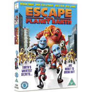 Escape From Planet Earth (UK-import) (DVD)
