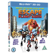 Escape From Planet Earth (UK-import) (Blu-ray 3D + Blu-ray)