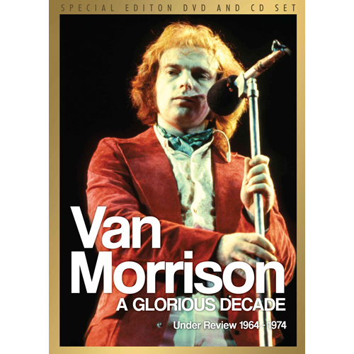 Van Morrison - A Glorious Decade - Under Review 1964-1974 (m/CD) (DVD)