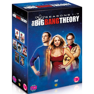 The Big Bang Theory - Sesong 1 - 7 (UK-import) (DVD)