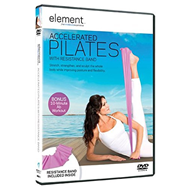 Accelerated Pilates With Resistance Band (UK-import) (DVD)