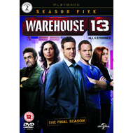 Warehouse 13 - Sesong 5 (UK-import) (DVD)