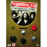 Warehouse 13 - The Complete Series (UK-import) (DVD)