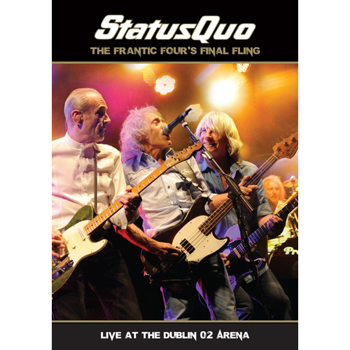 Status Quo - The Frantic Four's Final Fling - Live At The Dublin O2 Arena (m/CD) (DVD)
