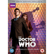 Doctor Who - Sesong 4 (UK-import) (DVD)