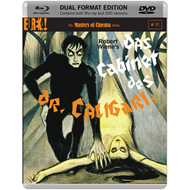 Das Cabinet Des Dr. Caligari (UK-import) (Blu-ray + DVD)