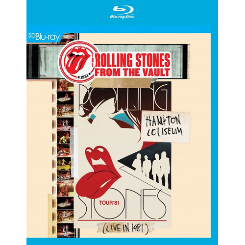 The Rolling Stones - From The Vault: Hampton Coliseum - Live In 1981 (UK-import) (SD Blu-ray)