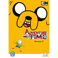 Adventure Time - Sesong 2 (UK-import) (DVD)