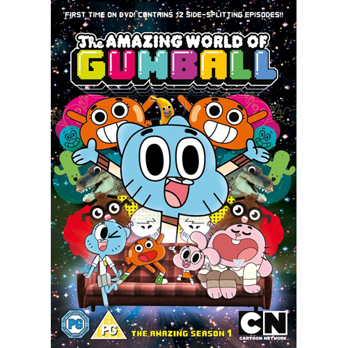The Amazing World Of Gumball - Sesong 1 (UK-import) (DVD)