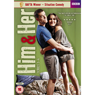 Him & Her - Sesong 1 - 4 (UK-import) (DVD)