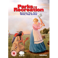 Parks And Recreation - Sesong 1 - 5 (UK-import) (DVD)