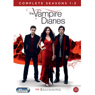 The Vampire Diaries - Sesong 1 - 3 (DK-import) (DVD)