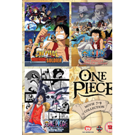 One Piece - Movie 7 - 9 Collection (UK-import) (DVD)