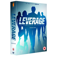 Leverage - The Complete Collection (UK-import) (DVD)