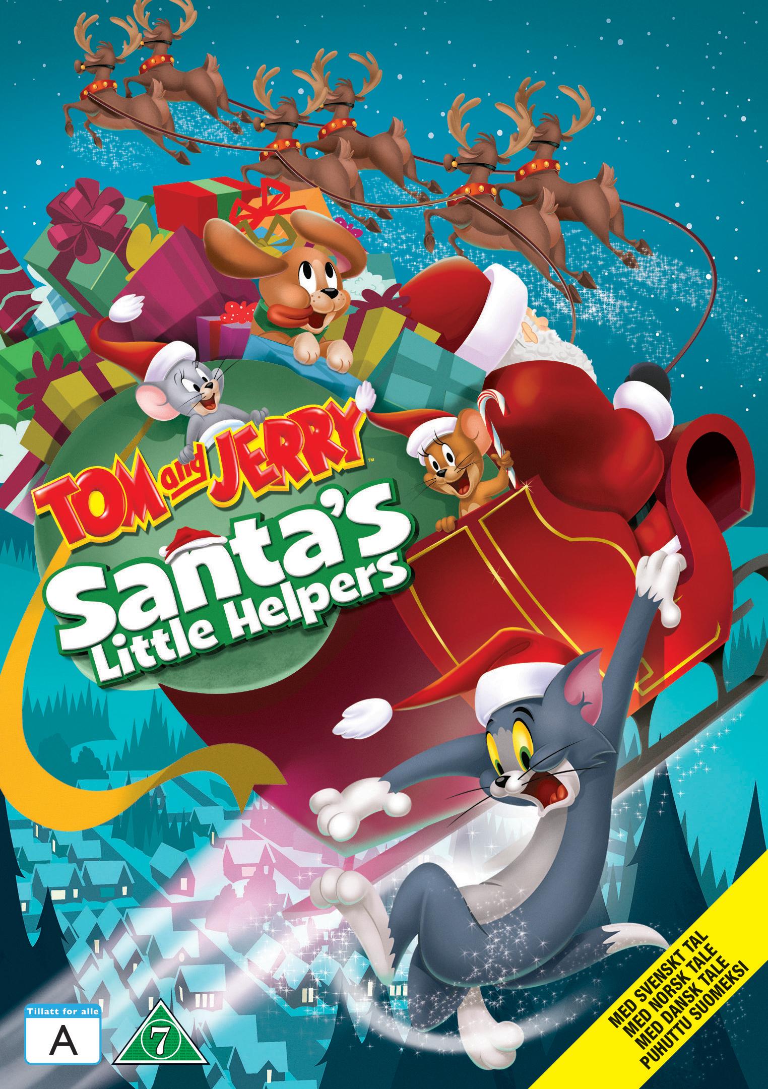 Tom Og Jerry Santa S Little Helpers