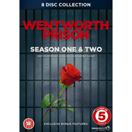 Wentworth Prison - Sesong 1 & 2 (UK-import) (DVD)