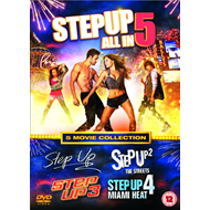 Step Up - 5 Movie Collection (UK-import) (DVD)