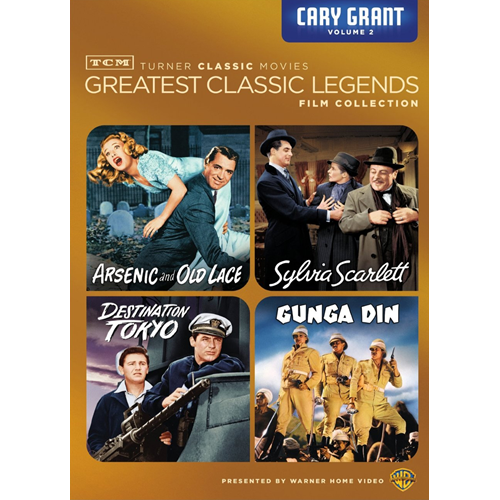 TCM Greatest Classic Legends - Cary Grant Volume 2 (DVD - SONE 1)