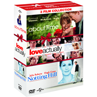 About Time / Love Actually / Notting Hill (DVD)