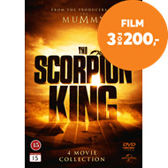 Produktbilde for The Scorpion King - 4 Movie Collection (DVD)