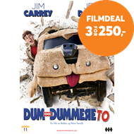 Produktbilde for Dum Og Dummere To (DVD)