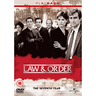 Law & Order - Sesong 7 (UK-import) (DVD)