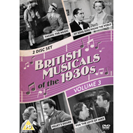British Musicals Of The 1930s - Volum 3 (UK-import) (DVD)
