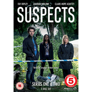 Suspects - Sesong 1 & 2 (UK-import) (DVD)