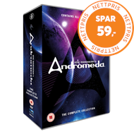 Produktbilde for Andromeda - The Complete Collection (UK-import) (DVD)