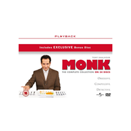 Monk -  The Complete Series (UK-import) (DVD)
