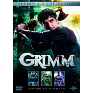 Grimm - Sesong  1 - 3 (UK-import) (DVD)