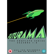 Futurama - Den Komplette Serien (UK-import) (DVD)