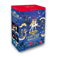 Produktbilde for Paris Opera Ballet / Dutch National Ballet: The Fairytale Ballets (DVD)