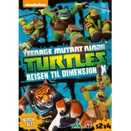 Teenage Mutant Ninja Turtles - Reisen Til Dimensjon X (DVD)