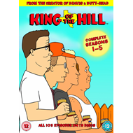 King Of The Hill - Sesong 1 - 5 (UK-import) (DVD)