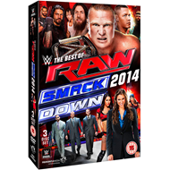 WWE: The Best Of Raw & Smackdown 2014 (UK-import) (DVD)