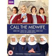Call The Midwife - Sesong  1 - 4 (UK-import) (DVD)