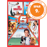 Produktbilde for Dr. Dolittle 1 - 5 (DVD)