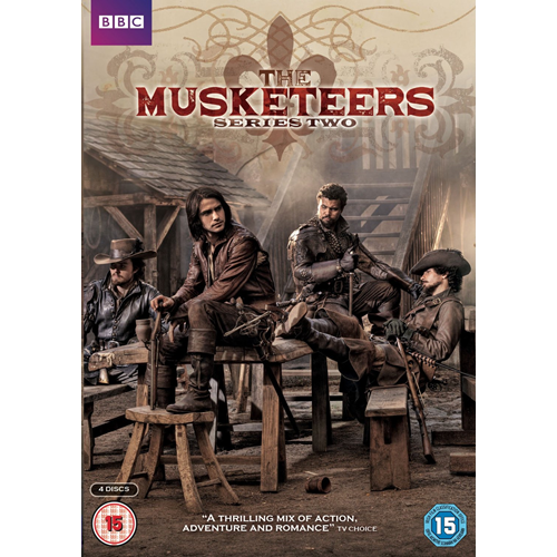 The Musketeers - Sesong 2 (UK-import) (DVD)
