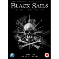 Black Sails - Sesong 1 & 2 (UK-import) (DVD)