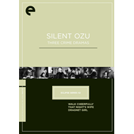 Eclipse Series 42: Silent Ozu - Three Crime Dramas: Criterion Collection (DVD - SONE 1)
