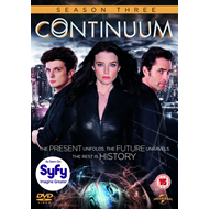 Continuum - Sesong 3 (UK-import) (DVD)
