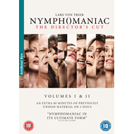 Nymphomaniac - The Director's Cut (UK-import) (DVD)