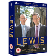Lewis - Sesong 3 (UK-import) (DVD)