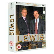 Lewis - Sesong 4 (UK-import) (DVD)
