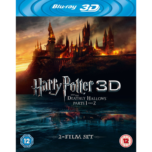Harry Potter And The Deathly Hallows - Parts 1 & 2 (UK-import) (Blu-ray 3D + Blu-ray)
