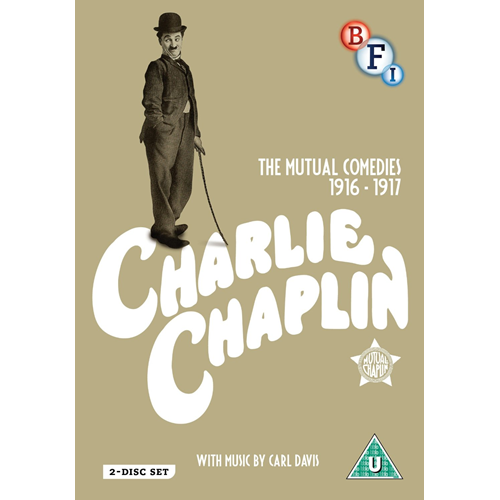 Charlie Chaplin - The Mutual Comedies 1916 - 1917 (UK-import) (DVD)