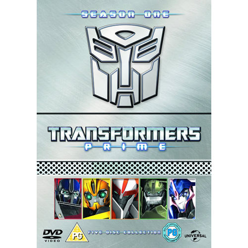 Transformers Prime -  Sesong 1 (UK-import) (DVD)
